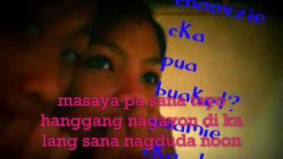 Tamang Hinala Lyrics By Bvozjunelie