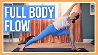 30 Min Full Body Yoga - Intermediate Vinyasa Yoga