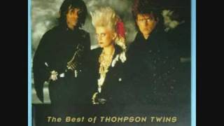 THOMPSON TWINS DANCERSAURUS(WATCHING -FINAL)-U.S RADIO INTERVIEW-(part of )GOLD FEVER