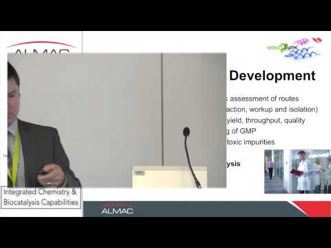 Application of Biocatalysis Technology within API development & Manufacture - Dr  Tom Moody