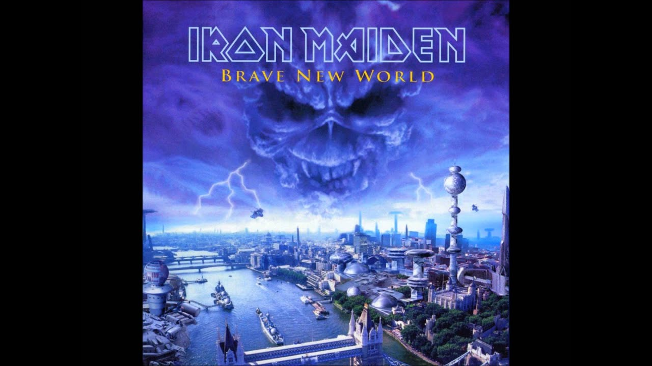 How To Make Live Wallpaper Iphone X Iron Maiden Brave New World Youtube