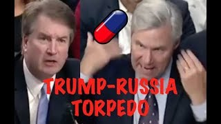 """ARE YOU A HUMAN TORPEDO??!!"" Sheldon Whitehouse CONFRONTS Brett Kavanaugh on Trump & Russia"