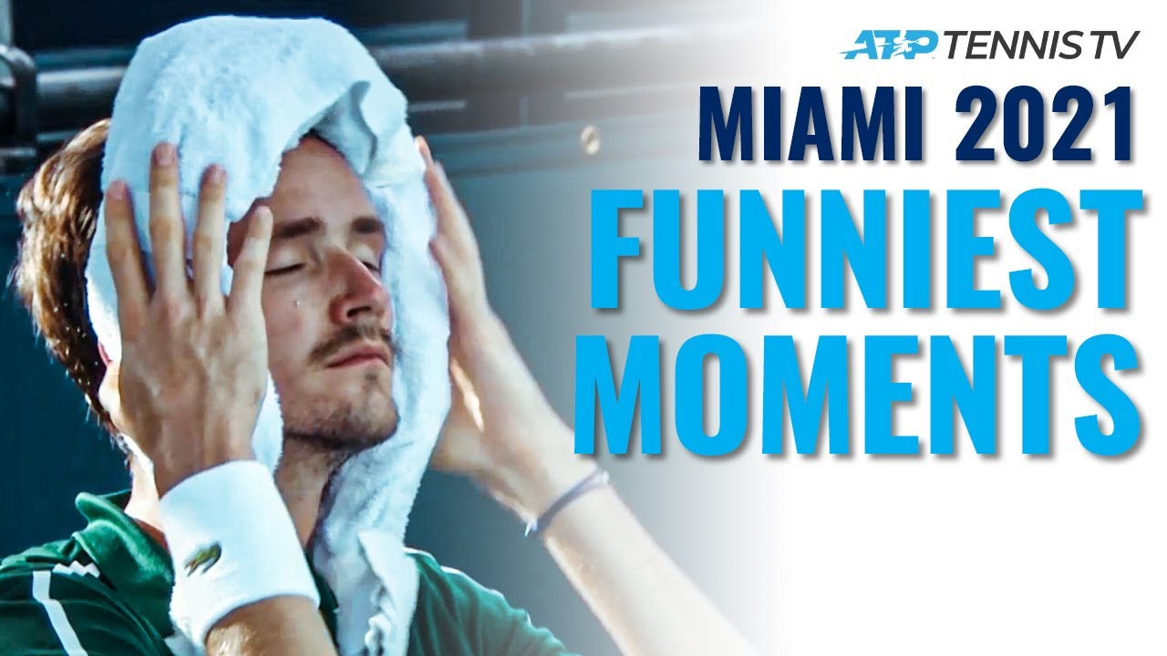 Funny Tennis Moments & Fails: Miami Open 2021!