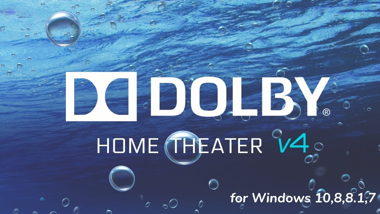 Dolby home theater v4 only working with one program at a time.