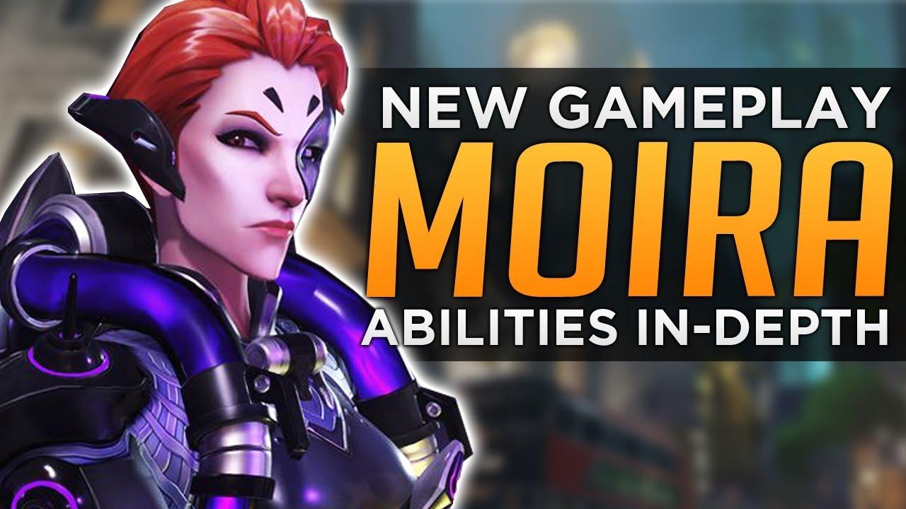 Overwatch: Moira NEW Gameplay - In-Depth Ability Breakdown