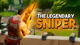 The LEGENDARY SNIPER And A VICTORY (Fortnite Battle Royale)