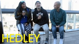 "Jacob Hoggard And Dave Rosin Of Hedley On Their New Album ""Hello"" - Full Interview, Toronto 2015"