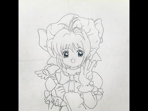 How To Draw Card Captor Sakura