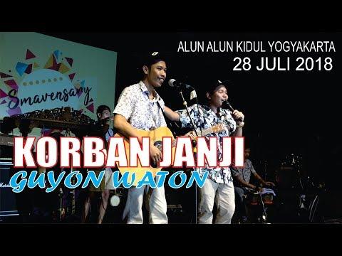 GUYONWATON 28 JULI 2018 -- KORBAN JANJI -- ALUN ALUN KIDUL YOGYAKARTA