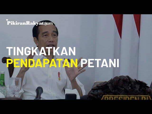 Masyarakat Diminta Beli Produk Dalam Negeri, Jokowi: Mari Tingkatkan Pendapatan Petani dan Nelayan