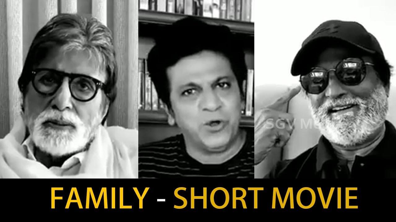 Stay Home Stay Safe – Short Film | Amitabh Bachchan, Rajinikanth, Shivrajkumar| Lockdown Short Movie