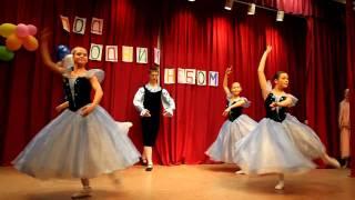 Ballet optræden ifb. Børnekreativitetsdagen: