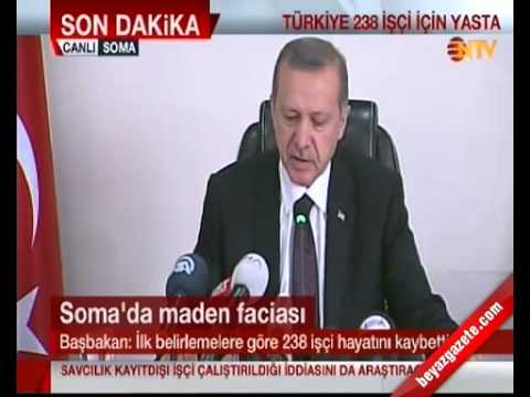 Başbakan Erdoğan: Manisa Soma Açıklaması