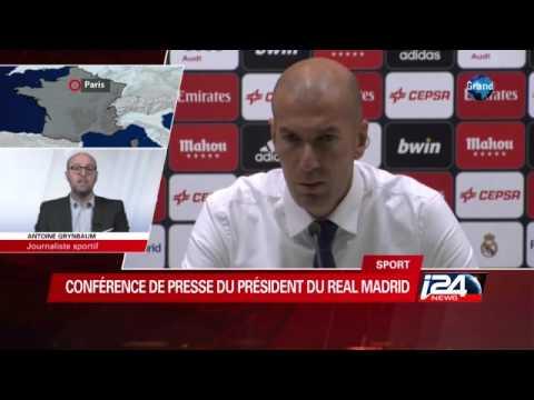 Zinedine Zidane devient l'entraineur du Réal Madrid