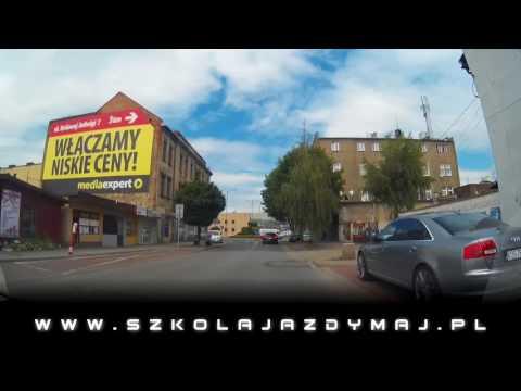 Jazda po mieście Oświęcim - odc.1