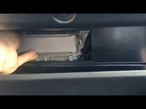 Установка фильтр салона Toyota Camry V 50 своими руками