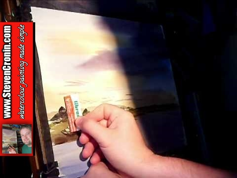 Watercolour Landscape Painting & Techniques feat River Axe in Uphill #2