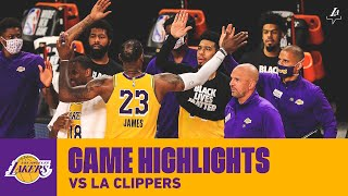 HIGHLIGHTS   Los Angeles Lakers Vs. LA Clippers