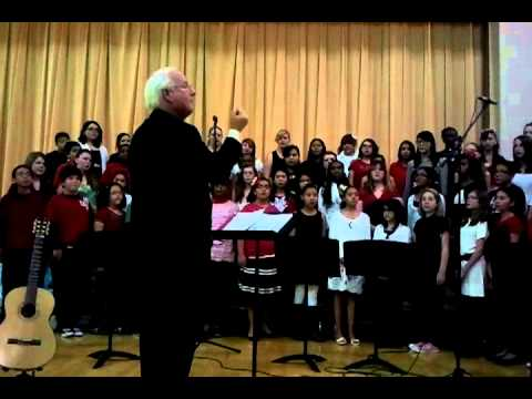 Fox Meadow Middle school choir concert