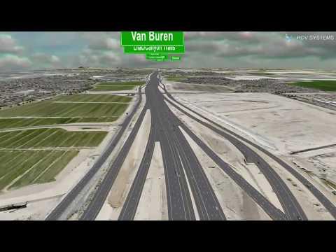 Loop 303: Fly over design I-10 to SR 30