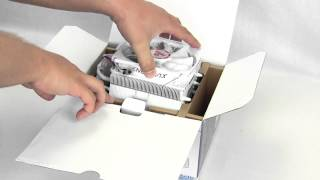 Enermax ETS-T40 White Cluster CPU Cooler Unboxing & Overview