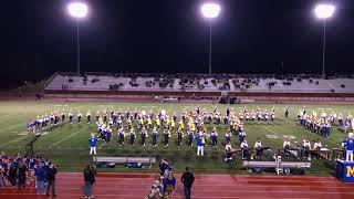 MHS Marching Band Halftime 9/29/17