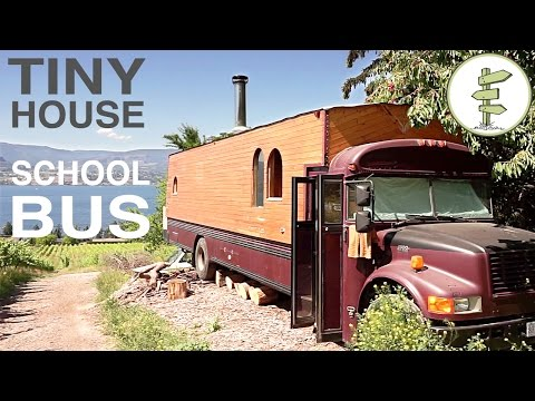 Video: From school bus to marvelous home on wheels