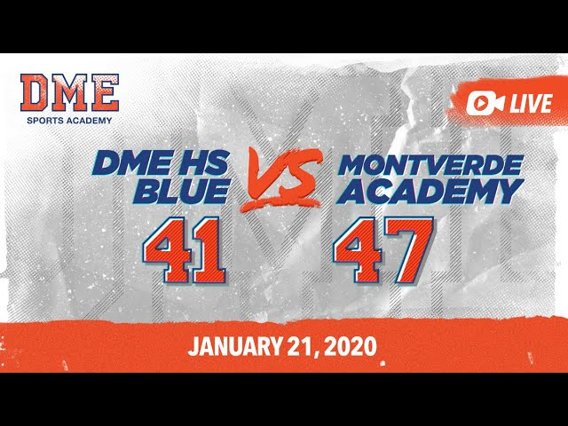 DME HS Blue vs Montverde