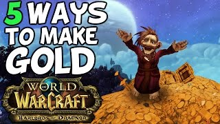 Repeat youtube video Top 5 Ways To Make Gold In Warlords Of Draenor