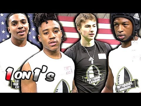 All-American Bowl National Combine 1 On 1's | #UTR Highlight Mix