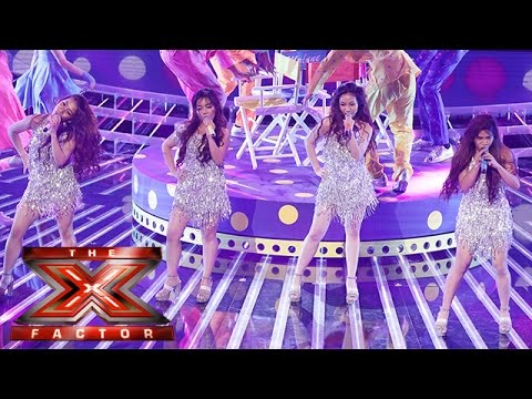 4th Impact work it out... Beyoncè style! | Live Week 3 | The X Factor 2015