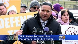 Trump Administration Ending Special Protections For Salvadoran Immigrants