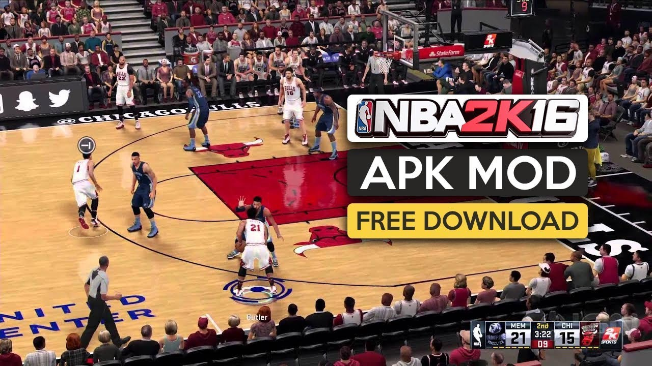 Nba 2k16 Apk Mod Obb For Android Free Download 2020 Youtube