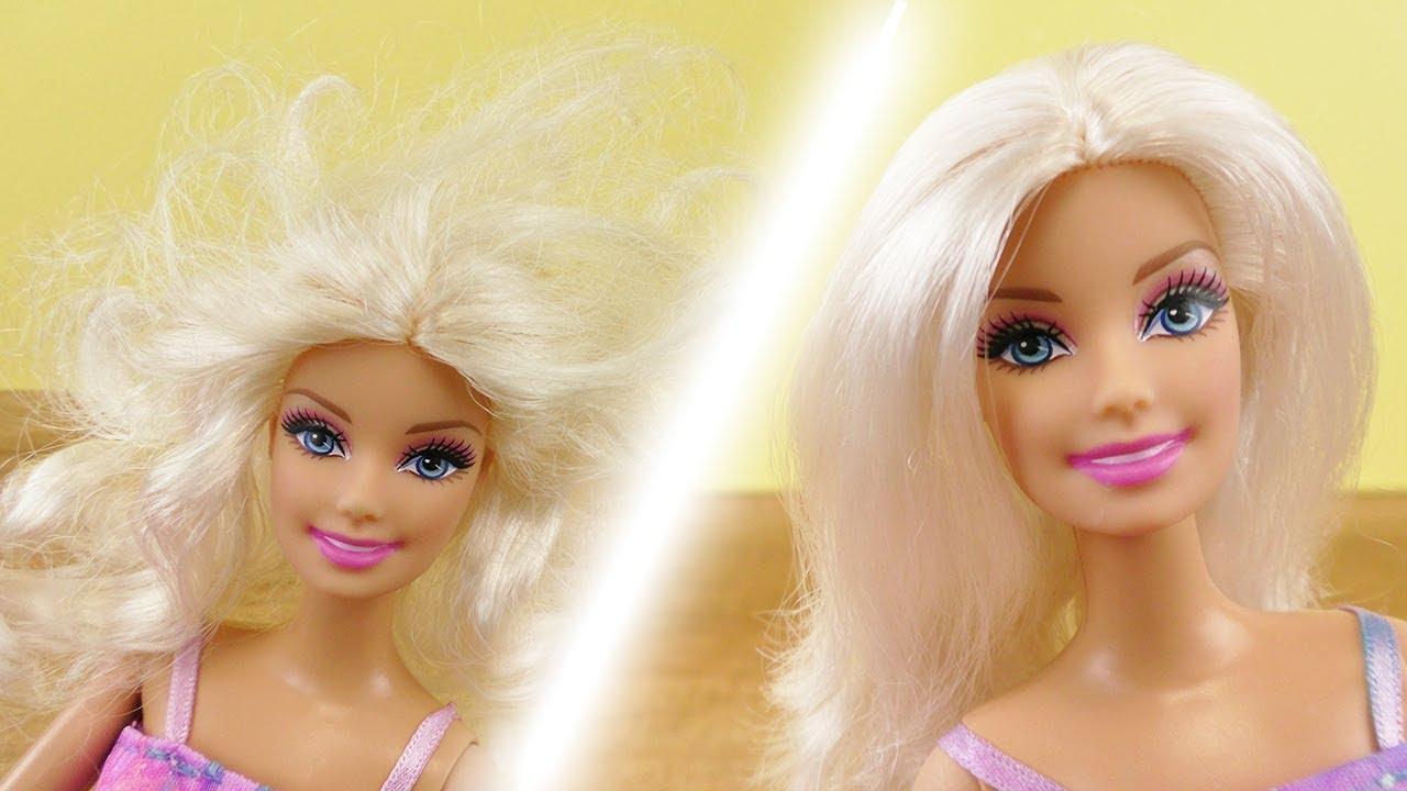 Barbie Haare Reparieren Wie Werden Verfilzte Haare Wieder Schön