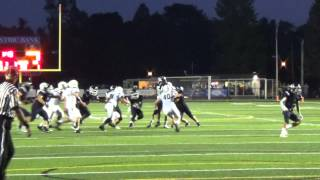 Bill Williams TD run vs. James Buchanan - 9-18-15 - PAPREPS.COM