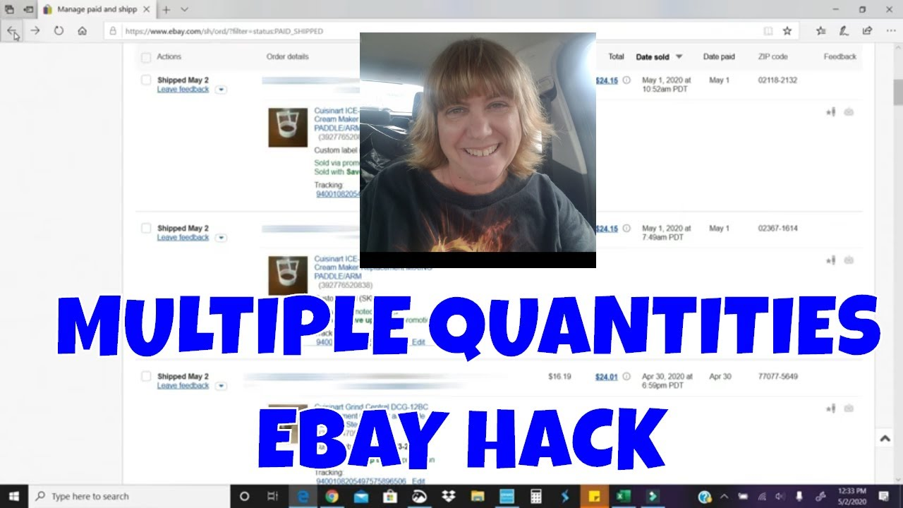 An Alternative To Multiple Quantity Ebay Listings Sales Youtube