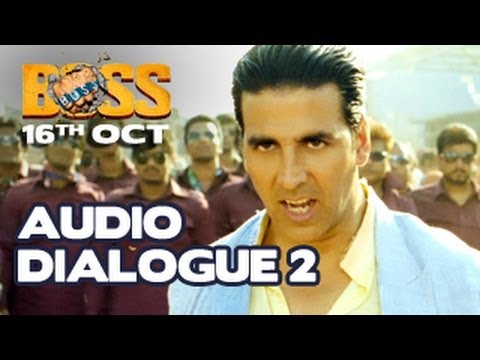 Akshay Kumar | BOSS 2013 | EXCLUSIVE Dialogue 2