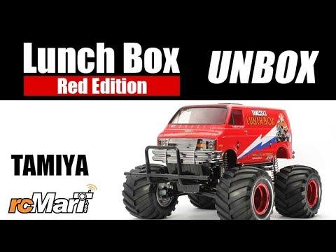 Tamiya 47402 Lunch Box Red Edition