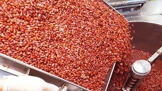 жевательный и сладкий! Домашний клейкий рисовый пирог из красной фасоли / Пищевая фабрика