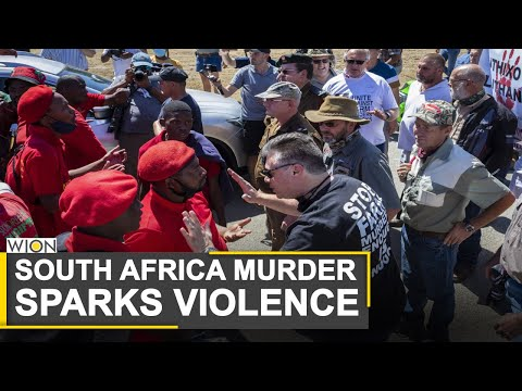 Racial tensions rise in South Africa after White farm manager murder | World News