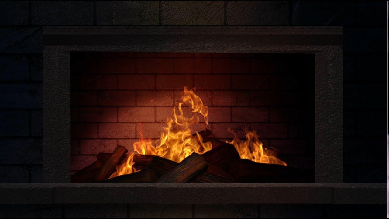 fireplace loop i youtube