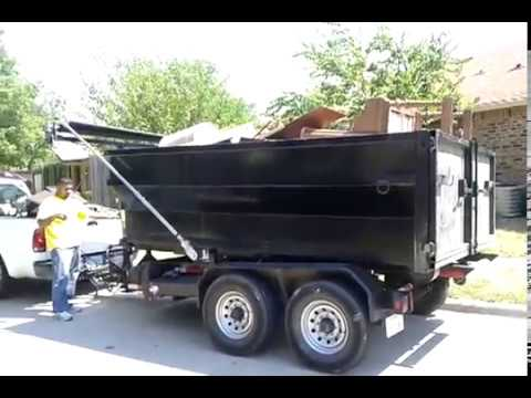Dumpster rental roll off containers in Houston Texas / junkguyshouston.com