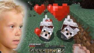 Откуда появляются щенки в minecraft Выживание в майнкрафте