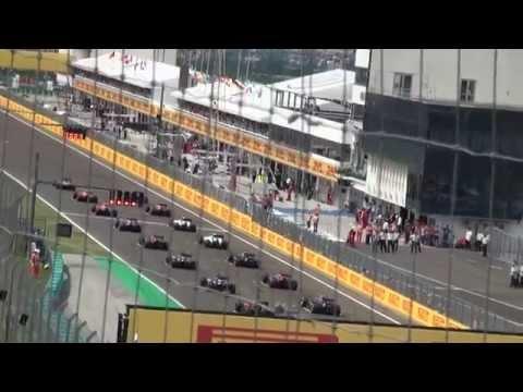F1 Hungaroring 2015 start