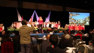 Children's Choir Entertains GGN2014 Delegats in Saint John
