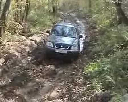 Honda CRV offroad - YouTube