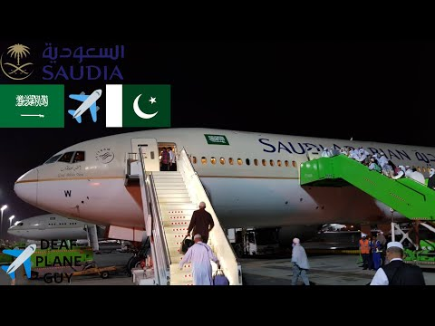 ✈TRIP REPORT | Saudia Arabian airlines B777-200er | Jeddah to Islamabad | March 2018