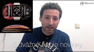 Proč jsou iPhone Xs a Apple Watch 4 nejodvážnější produkty Applu? (Alisczech vol. 130)