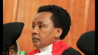 Naibu Jaji Mkuu Philomena Mwilu Kizimbani: anashutumiwa kwa kutoa rushwa