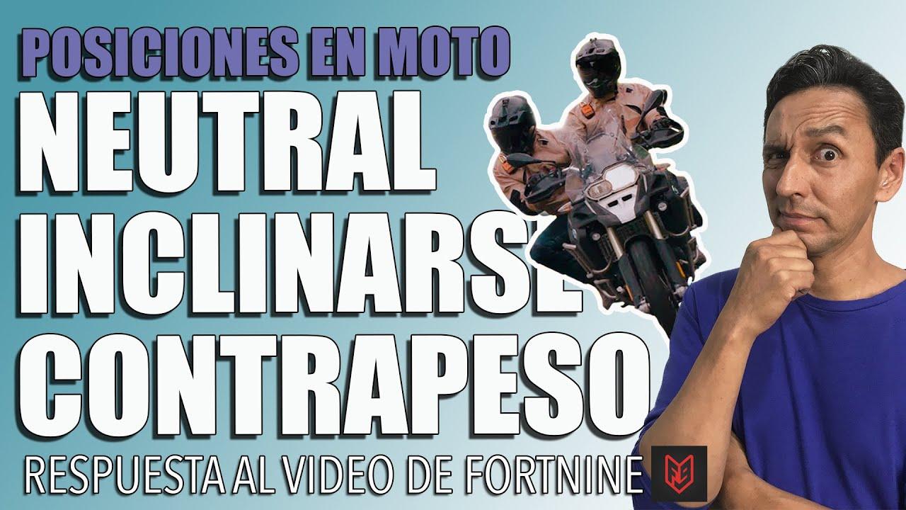 Posición del cuerpo en moto - Respuesta al video de Fortnine 🏍   Ep.#45